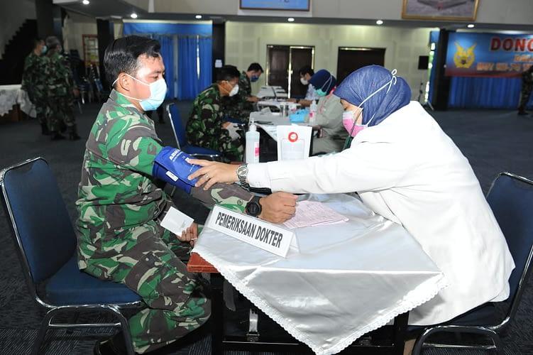 Persediaan Darah PMI Menipis, TNI AU Gelar Donor Darah