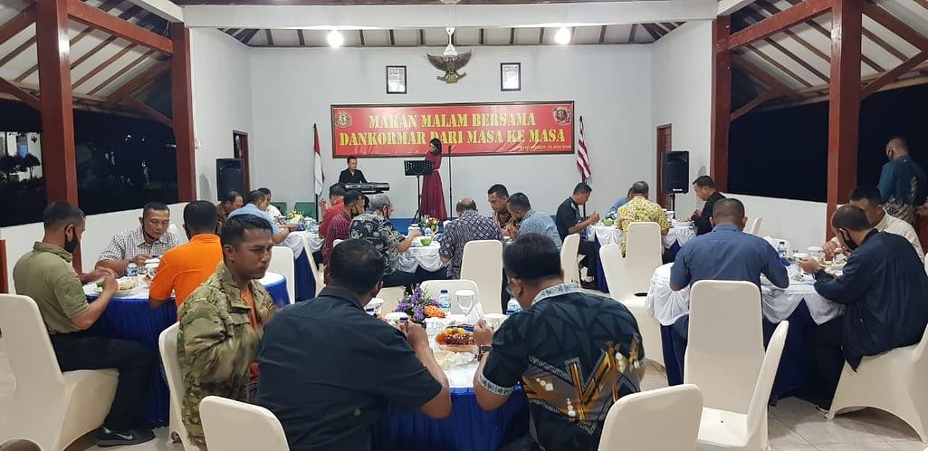 Silahturami dengan Dankormar dari Masa ke Masa di Daerah Latihan Dabo Singkep