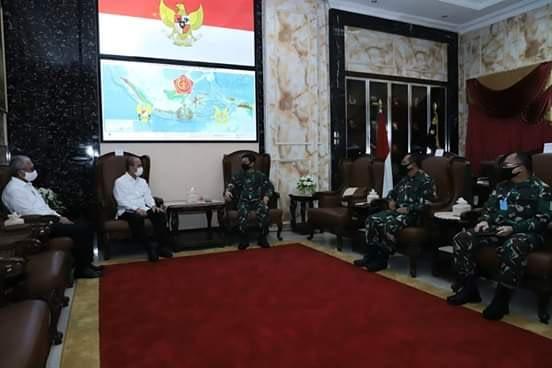 Panglima TNI Terima Audiensi Kepala BNPT