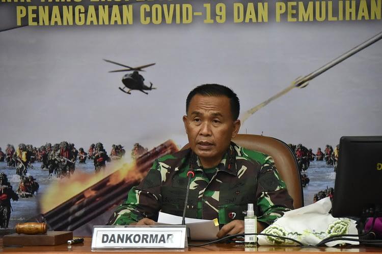Komandan Korps Marinir Resmi Buka Rakernisops Tahun 2021