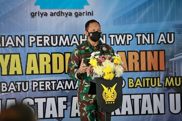 Kasau Resmikan Rumah Non Dinas TWP TNI AU, Griya Ardhya Garini