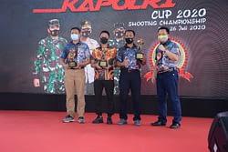 Dankormar Raih Juara Pertama Menembak Pistol Kapolri Cup 2020