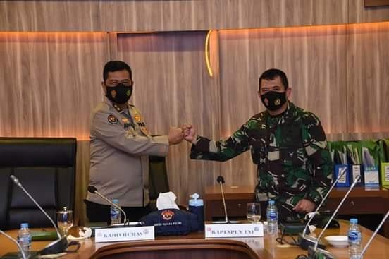Kapuspen TNI : Sinergitas TNI-Polri Tidak Perlu Diragukan Lagi