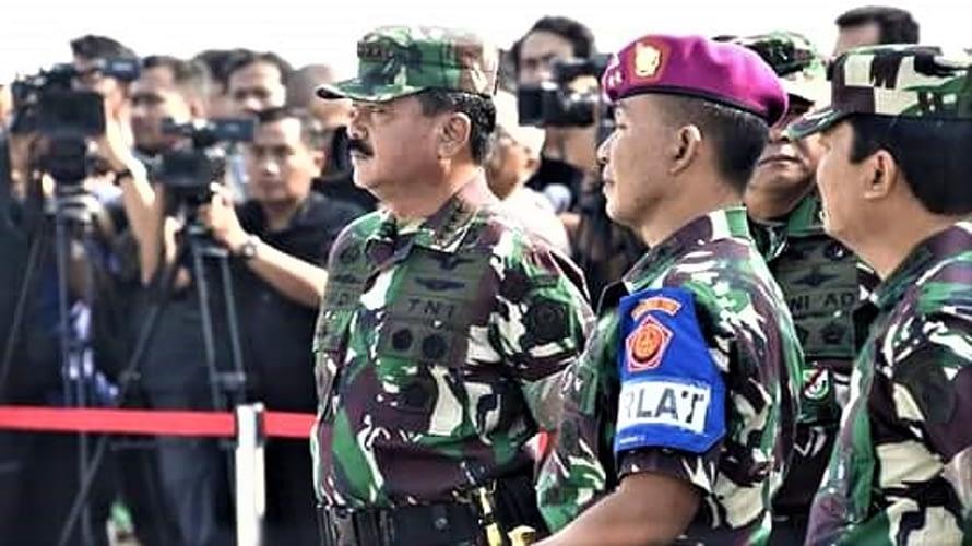 Panglima TNI Tinjau Latihan Satgultor TNI di Ancol