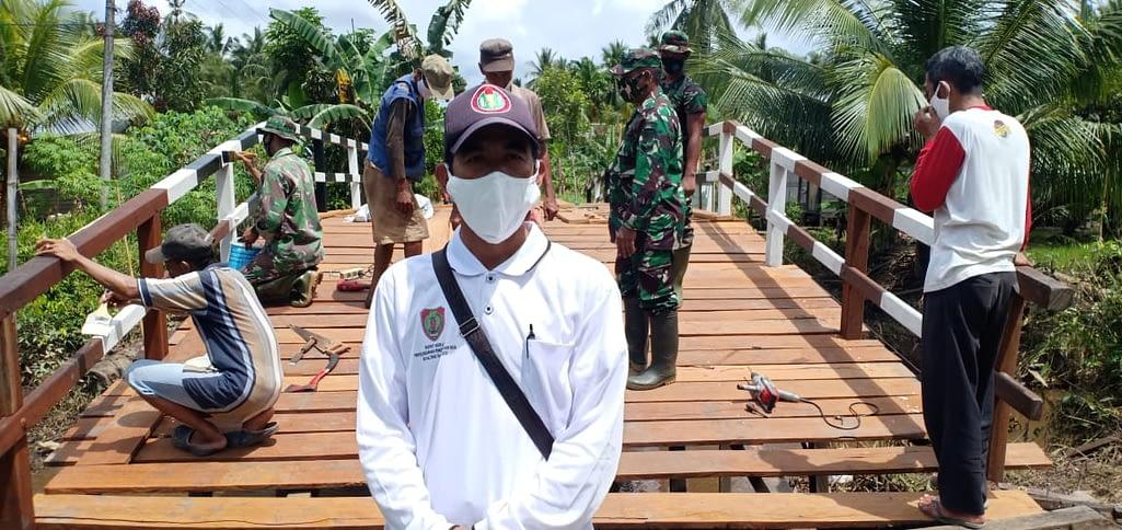 Satgas TMMD Kejar Target Sasaran Fisik Pembangunan Jembatan