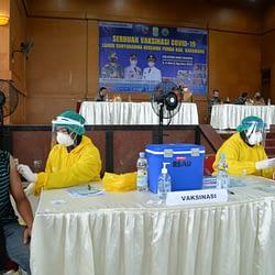 Lanud Suryadarma Kembali Menggelar Serbuan Vaksinasi di Wilayah Kabupaten Karawang