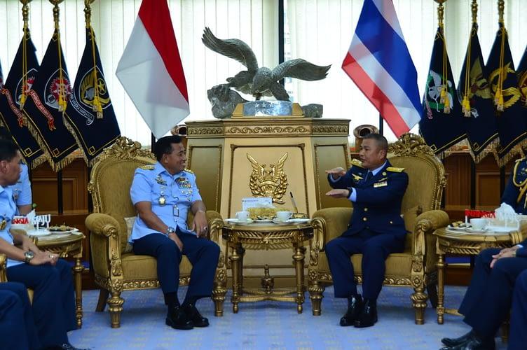 Pererat Kerja Sama, Kasau Baru Thailand Kunjungi Mabesau