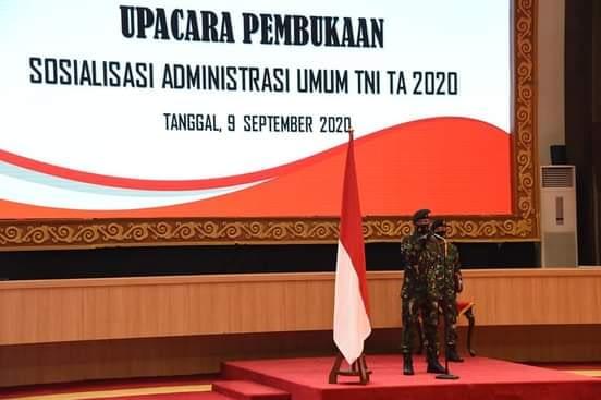 Aspers Panglima TNI : Administrasi Umum TNI Harus Seragam