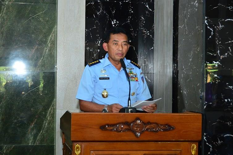 Wujud Syukur Usia ke-73 TNI AU, Kasau Do'a Bersama 1000 Anak Yatim