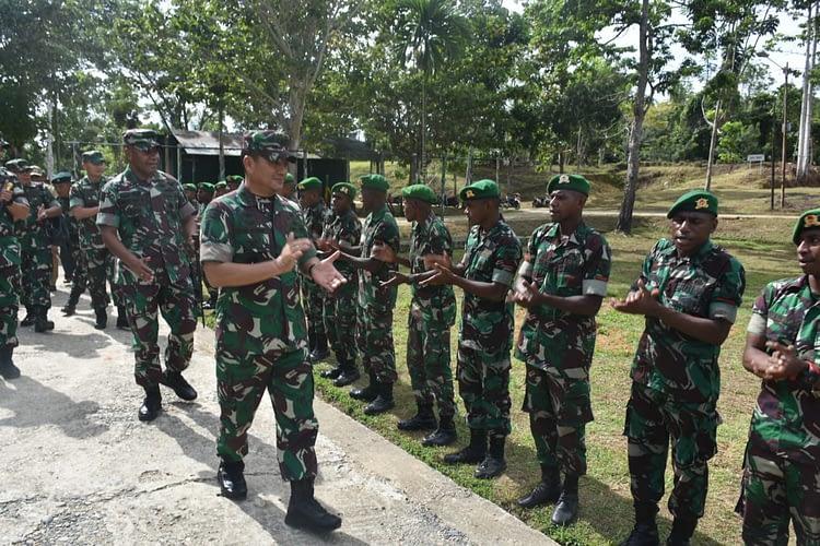 Wakasad : Satu Kehormatan Bagi Prajurit Bisa Bertugas di Papua
