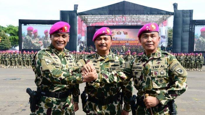 SERTIJAB Komandan Korps Marinir TNI AL