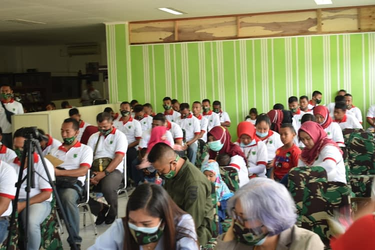 Ajendam XVIII/Kasuari Rayakan HUT Ajen TNI AD yang ke-70