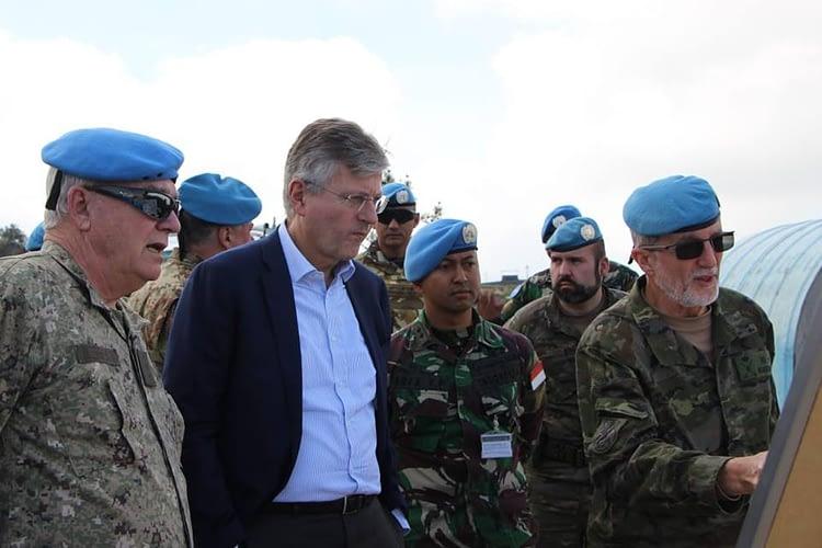 Wakil Sekjen PBB Kunjungi Daerah Operasi Kontingen Garuda di Lebanon