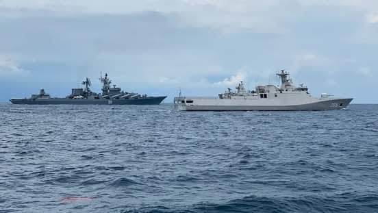 Tiga KRI Dan Tiga Kapal Perang Rusia Terlibat Latihan Passex Rusindo-20