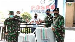 Peduli Cegah Covid-19,   Patigama 88 Bagikan APD di Sejumlah Rumah Sakit TNI AU