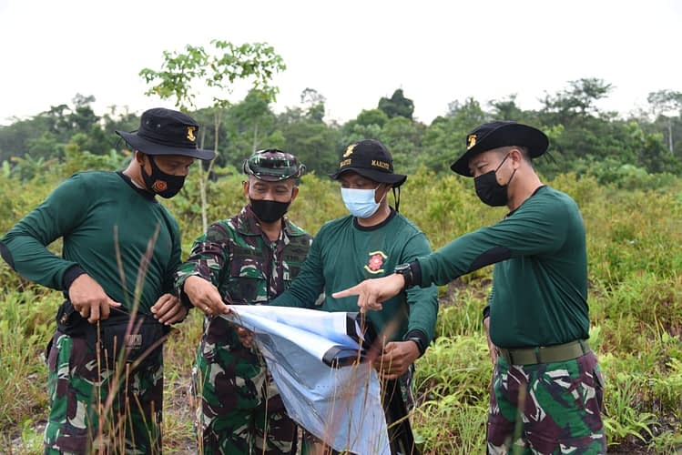 Dabosingkep, Dankolatmar Tinjau Kesiapan Tempat Latihan Armaja Jaya XXXIX T.A. 2021