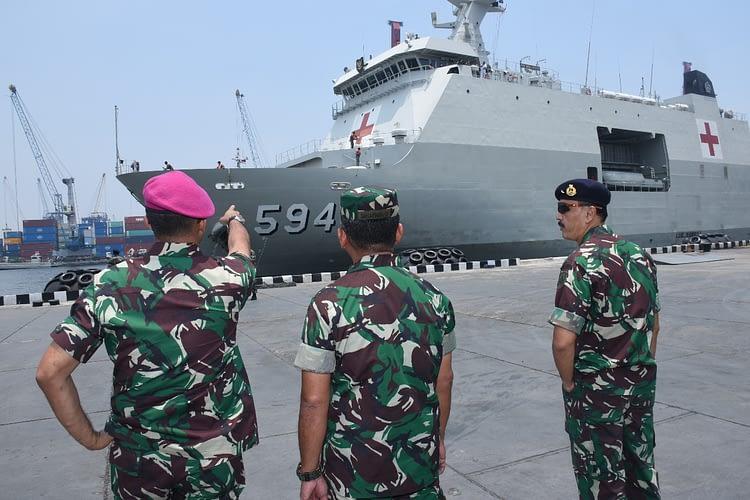 Korps Marinir Selesaikan Misi di Pulau Sebaru