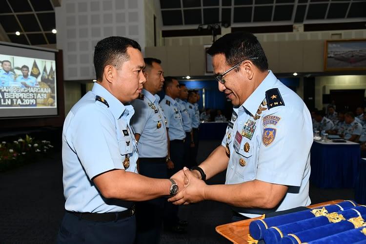 "Rakernispersau Tahun 2020 ""Aspers Kasau: Alutsista TNI AU Membutuhkan SDM Unggul"""