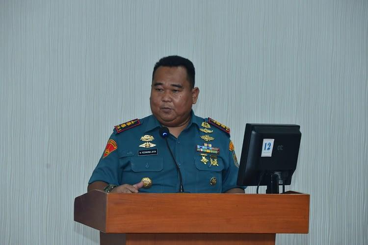 Jelang Latsitarda Nusantara 2020 Danyon Marhanlan VIII Bitung Ikut Beri Pembekalan Kepada Taruna AAL