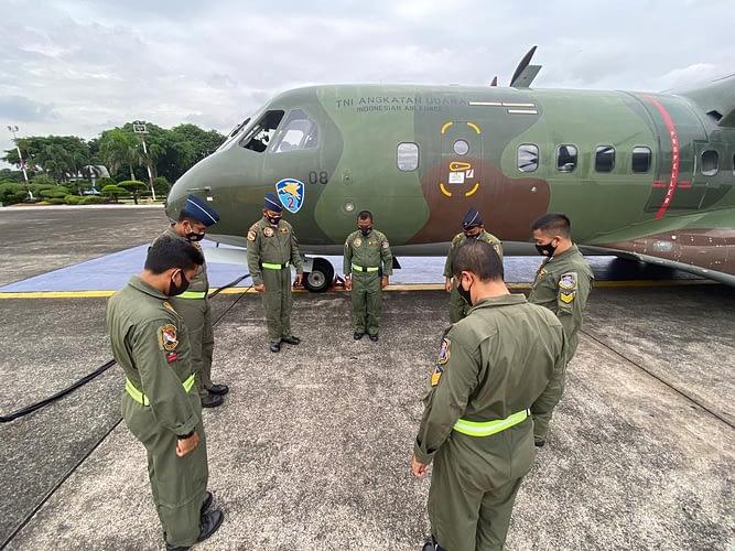TNI AU Terbangkan Alutsista guna Membantu Korban Gempa Majene, Sulbar