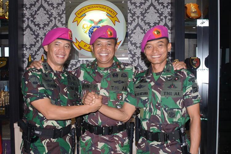 Brigjen Tni (Mar) Ipung Purwadi Pimpin Sertijab Asintel Danpasmar 2