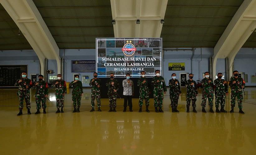 Puslaiklambangjaau Gelar Ceramah RTZA di Lanud Halim