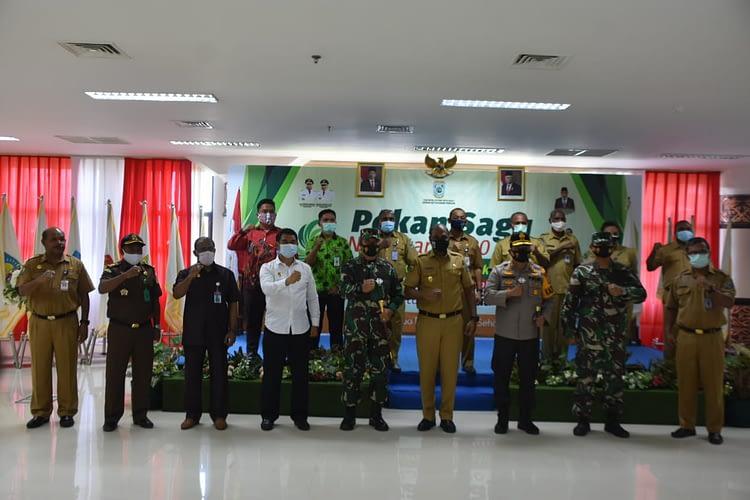 Pangdam XVIII/Kasuari Menghadiri Pekan Sagu Nusantara