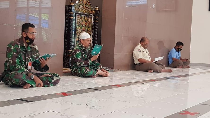 Tingkatkan Imtak dan Doakan Keselamatan, Lanud Halim Gelar Khataman Al-Qur'an dan Do'a Bersama