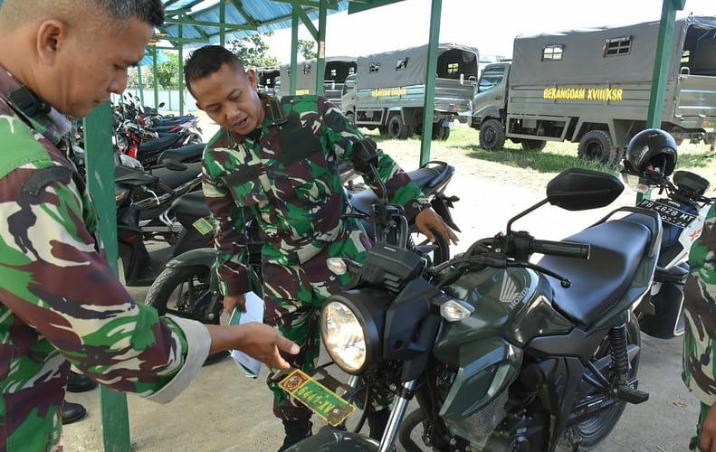 Pejabat Kapendam Akan Berganti, Pendam XVIII/Kasuari Diverifikasi Tim Itdam XVIII/Kasuari