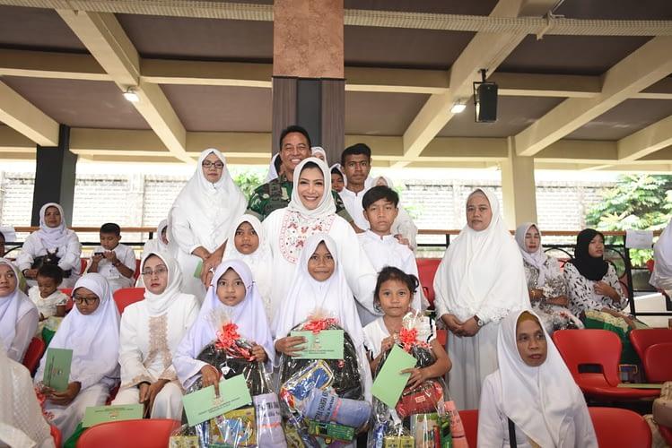 HUT ke-74 Persit KCK : Wujudkan Keluarga Sehat dan Berakhlak Mulia