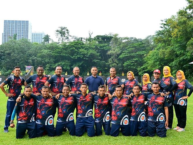 Prestasi Membanggakan Kembali Diukir Atlet Brigif 4 Marinir/BS Pada Cabang Panahan di Kejuaraan Marine Archery Competition Korps Mairnir Tahun 2020