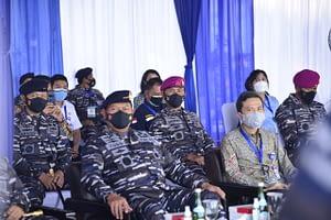 """Dankormar Menghadiri Upacara Pelepasan Ekspedisi Jala Citra I """"Aurora"""" 2021"""
