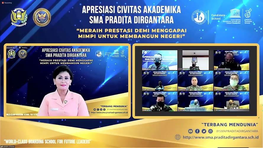 """TNI AU Menyelenggarakan Acara """"Appreciation Day"""" bagi Civitas Akademika SMA Pradita Dirgantara"""