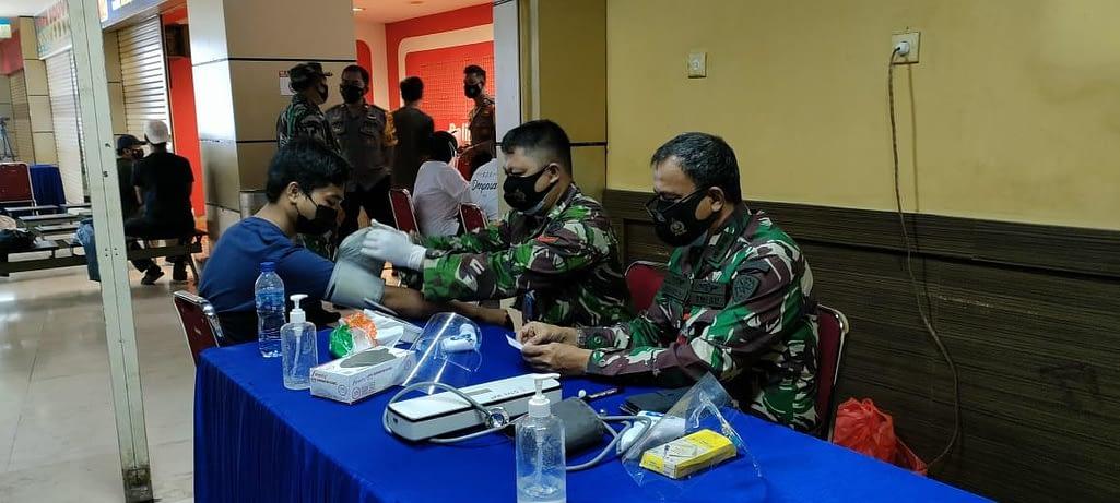 TNI AU Dukung Vaksinasi Covid-19 di Bandara