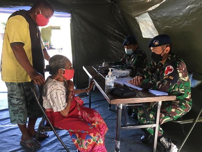 Memasuki Hari Ke-10, Satgaskes TNI AU Tetap Berikan Pelayanan Kesehatan di Lembata, NTT