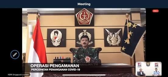 Langkah Konkrit TNI Bantu Penanganan Covid-19 di Indonesia