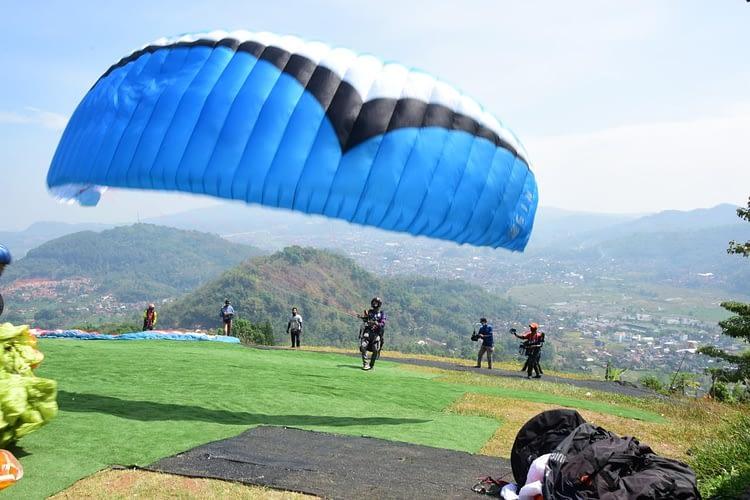 Terobosan Baru, Paralayang  Indonesia Adakan Lomba Virtual Paragliding Festival 2020