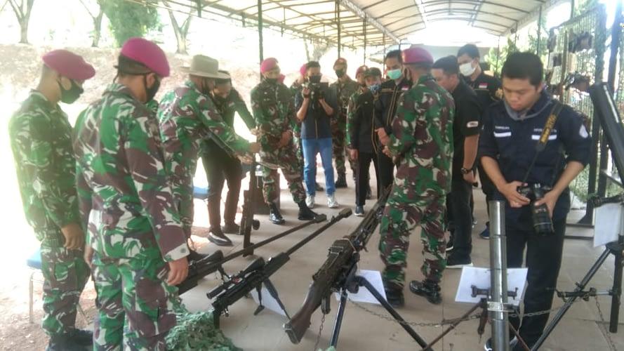 Kunjungan Kerja Universitas Teknokrat Bandar Lampung ke Sarang Petarung Yonif 9 Marinir