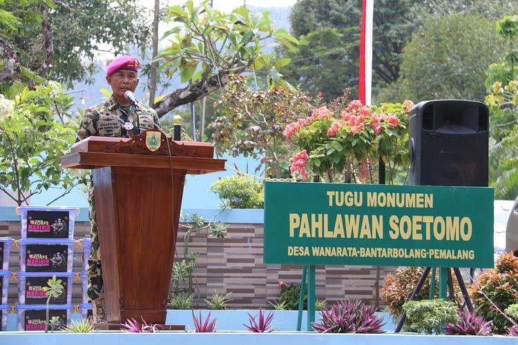 Dankormar Kunjungi Monumen Letnan Soetomo