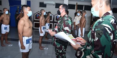 Danlanud Halim Pimpin Sidang Patukhirda Bintara PK TNI AU T.A 2021