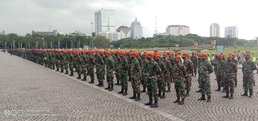 PPKM Mikro Diperpanjang, TNI AU Kerahkan Paskhas