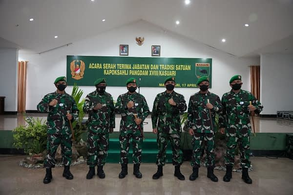 Pangdam XVIII/Kasuari: Kapok Sahli Pangdam Miliki Kedudukan yang Sangat Strategis