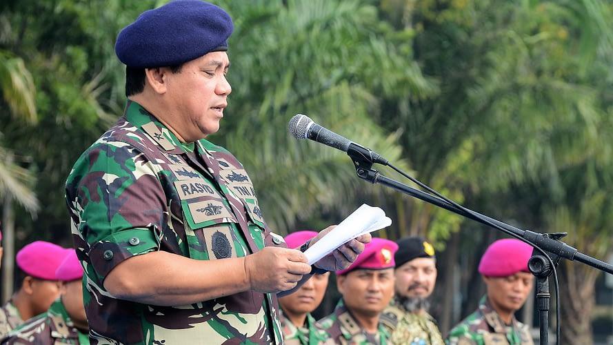 LATIHAN BERSAMA MARINIR INDONESIA -  PAKISTAN
