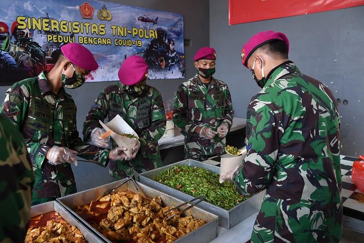 Danpasmar 1 Check Kesiapan Yonbekpal 1 Mar Dukung Distribusi Logistik Ke Warga Masyarakat DKI Jakarta