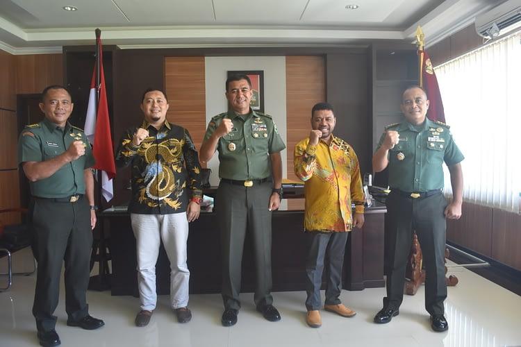 Untuk Mengetahui Kesiapsiagaan Penanganan Covid-19, Anggota DPD RI Kunjungi Kodam XVIII/Kasuari