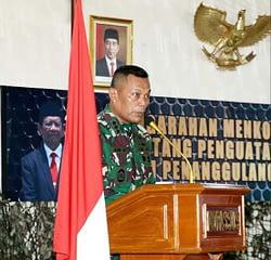 Kasum TNI : Tugas Pokok TNI Selain Perang Adalah Mengatasi Terorisme