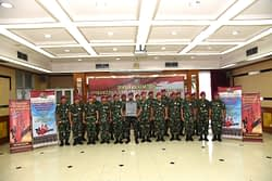 Komitmen Bersama Pimpinan Dan Staf Korps Marinir Dalam Pembangunan Zona Integritas 2
