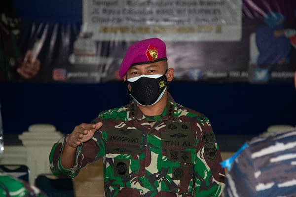 TNI AL Korps Marinir Konsisten Wadahi Kebutuhan Vaksinasi ke-2 Untuk Keluarga Besar TNI AL dan Masyarakat