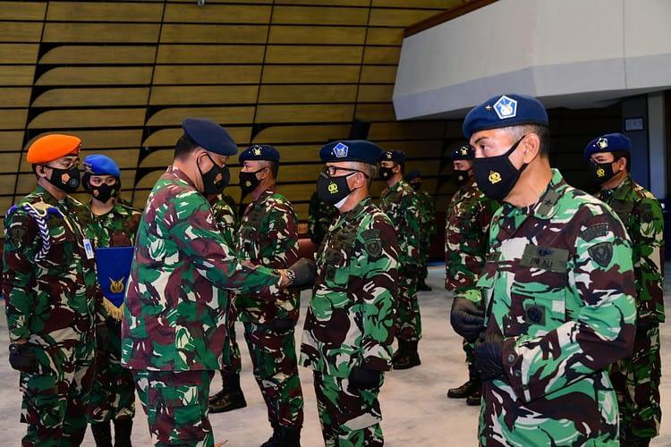 Enam Jabatan Strategis TNI AU Diserahterimakan