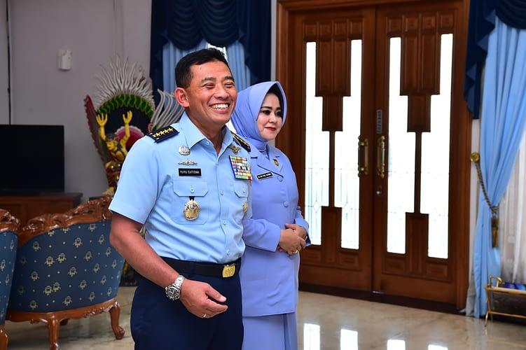Kasau Terima Laporan Kenaikan Pangkat 11 Pati TNI AU